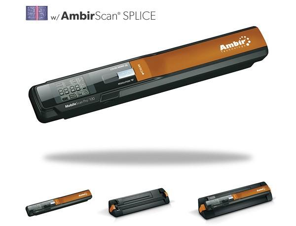 AMBIR- MobileScan Pro 100 w/ Splice (WS100-SP)
