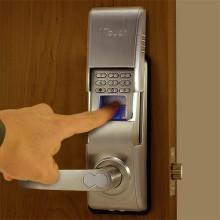 1Touch® IQ2 Indoor/Outdoor Fingerprint Door Lock Pin Code