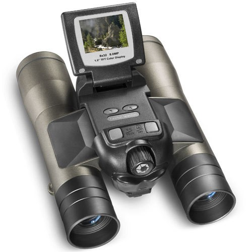 Barska AH11410 - 8x32mm, Point 'n View 8.0MP, Binoculars and Camera