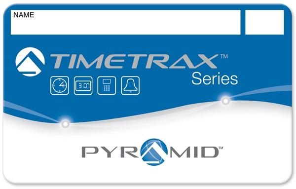 Pyramid TimeTrax Badges 1-25