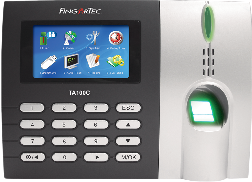 FingerTec TA103C Time Clock