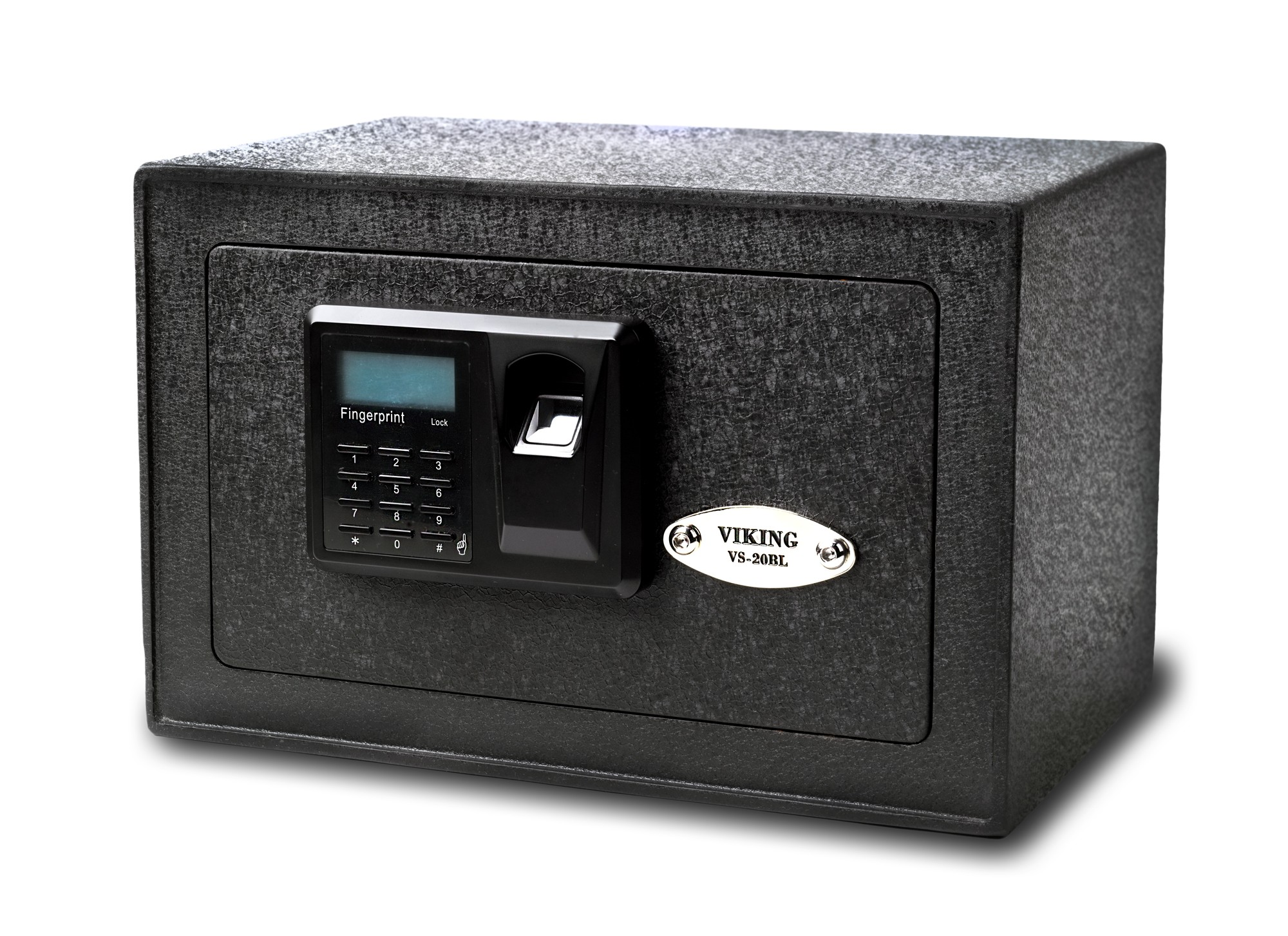 Viking Security Safe VS-20BLX Mini Biometric Fingerprint LCD Keypad Safe