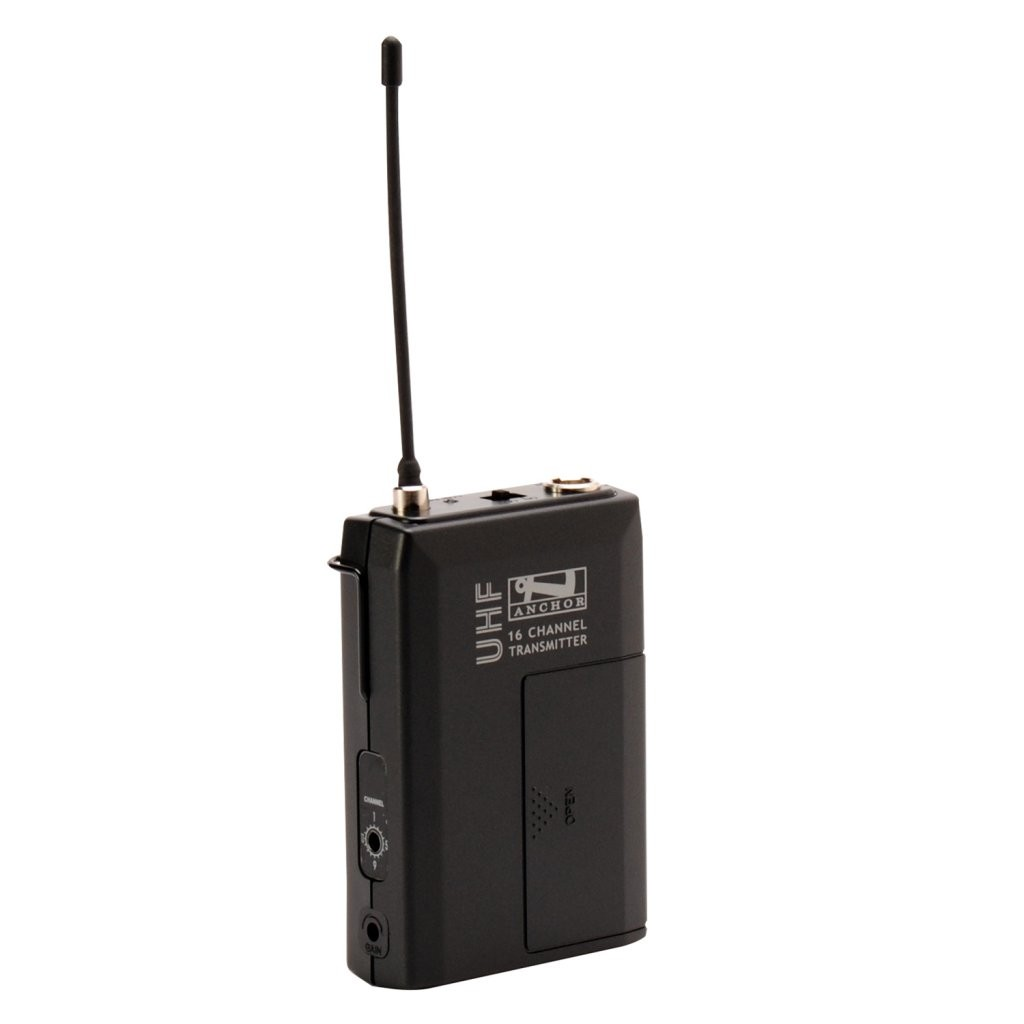 Anchor Audio WB-8000 Wireless beltpack transmitter (540 - 570 MHz)