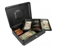 Barska CB11834 - Large Cash Box with Key Lock