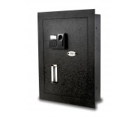 Viking Security Safe VS-52BLX Hidden Wall Biometric Fingerprint LCD Keypad Safe