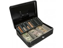 Barska CB11790 - Cash Box and Coin Tray with Key Lock