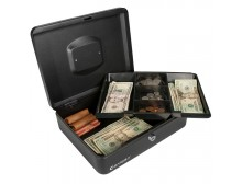 Barska CB11834 - Large Cash Box with Key Lock