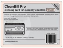 Cassida CleanBill Pro Box of 10 Cleaning Cards