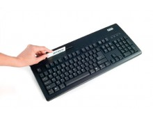 IDTECH- VersaKey™  POS Keyboard w/MagStripe Reader