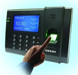 Amano Time Guardian FPT80 Biometric Fingerprint System