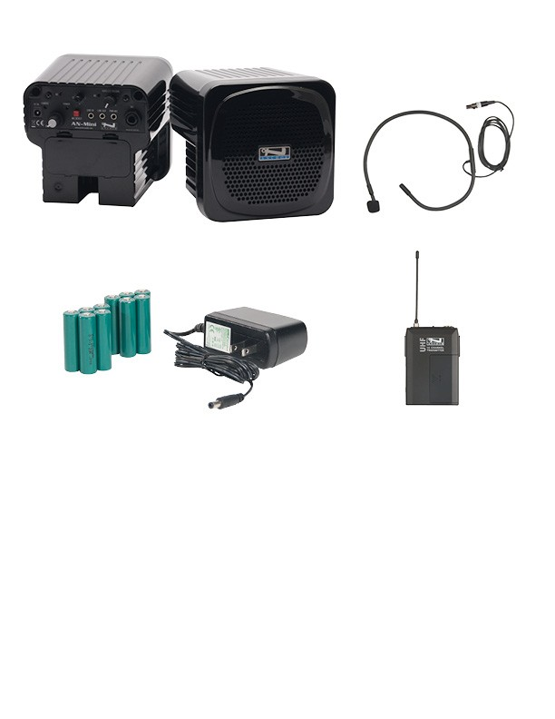 Anchor Audio AN-MINIDP-CM Deluxe Package with Collar mic