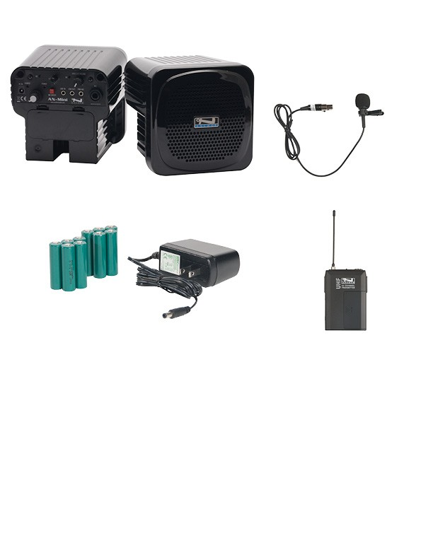 Anchor Audio AN-MINIDP-LM Deluxe Package with Lapel mic