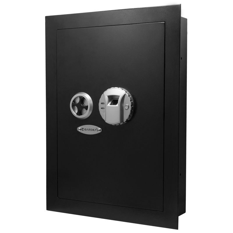 Barska AX12038 - Biometric Wall Safe