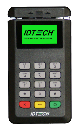 IDTECH- BTPay 200, Bluetooth Payment Terminal w/MagStripe, Chip and PIN