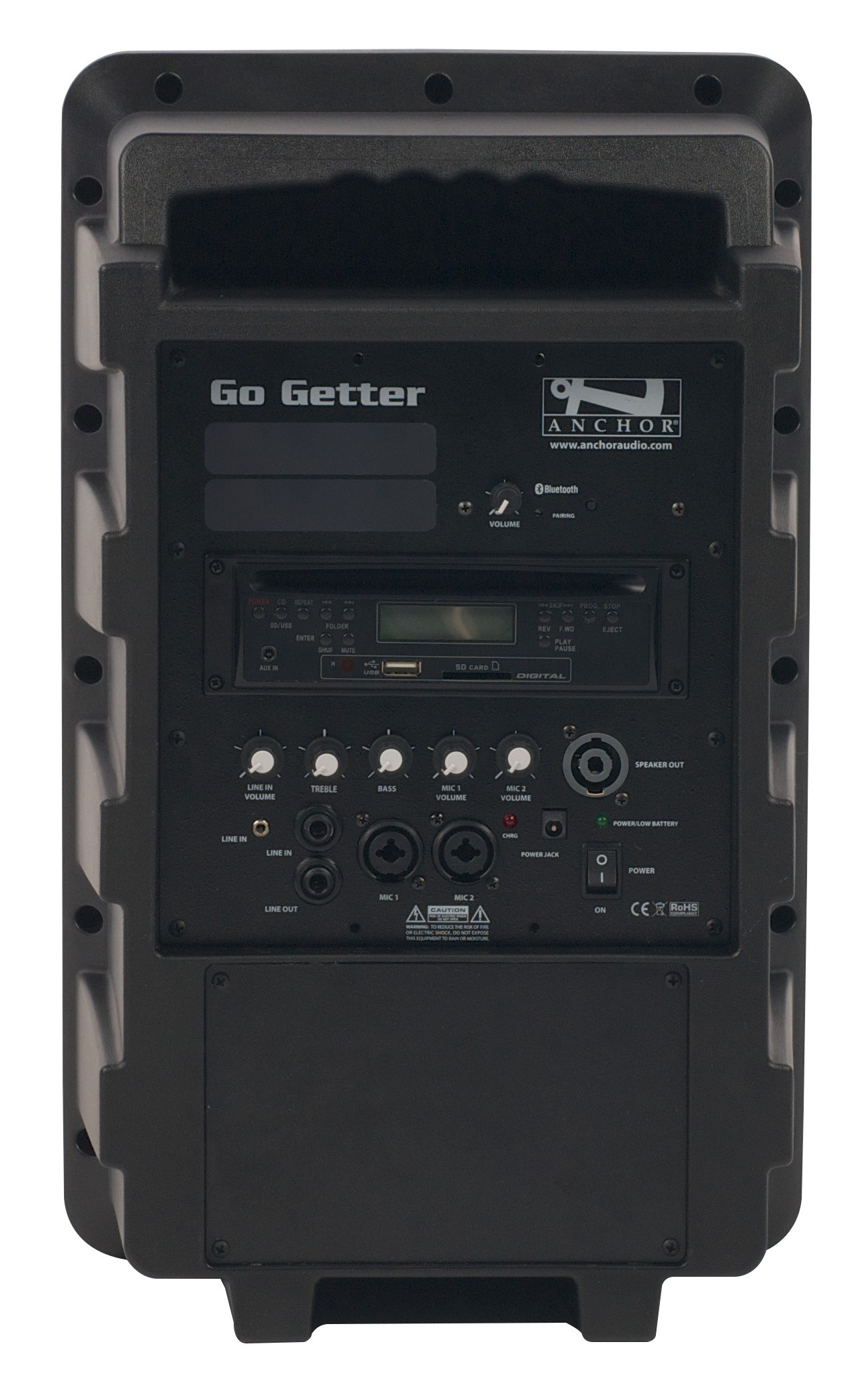 Anchor Audio GG-8000C Go Getter with Bluetooth & CD/MP3 combo player