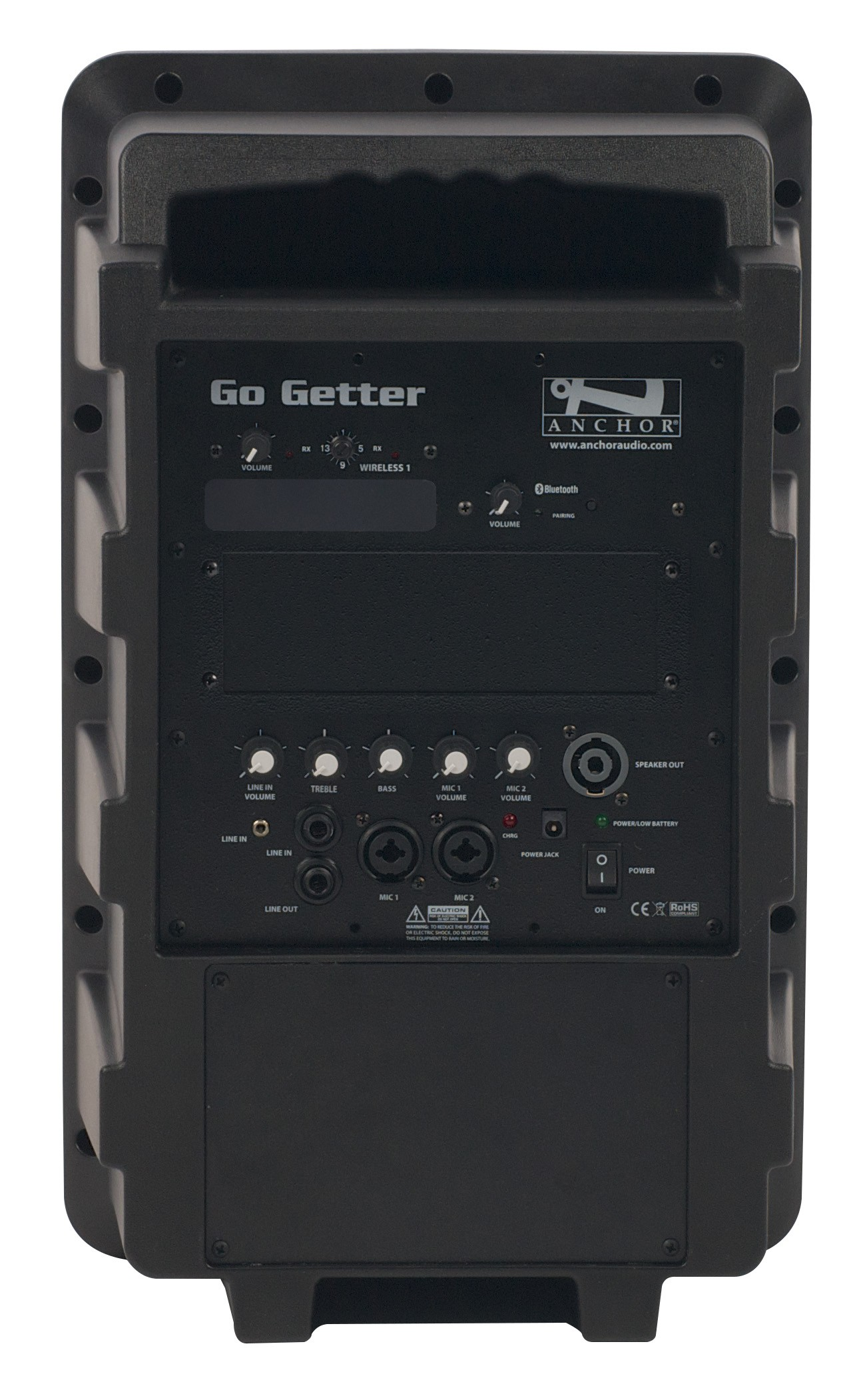 Anchor Audio GG-8000U1 Go Getter with Bluetooth & one built-in wireless receiver