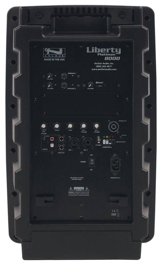 Anchor Audio LIB-8000U2 Liberty with Bluetooth & two built-in wireless receivers