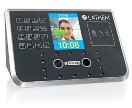 Lathem FR700 Terminal Only, Face Recognition Time & Attendance and Access Control System (Requires Subscription to PayClock Online)