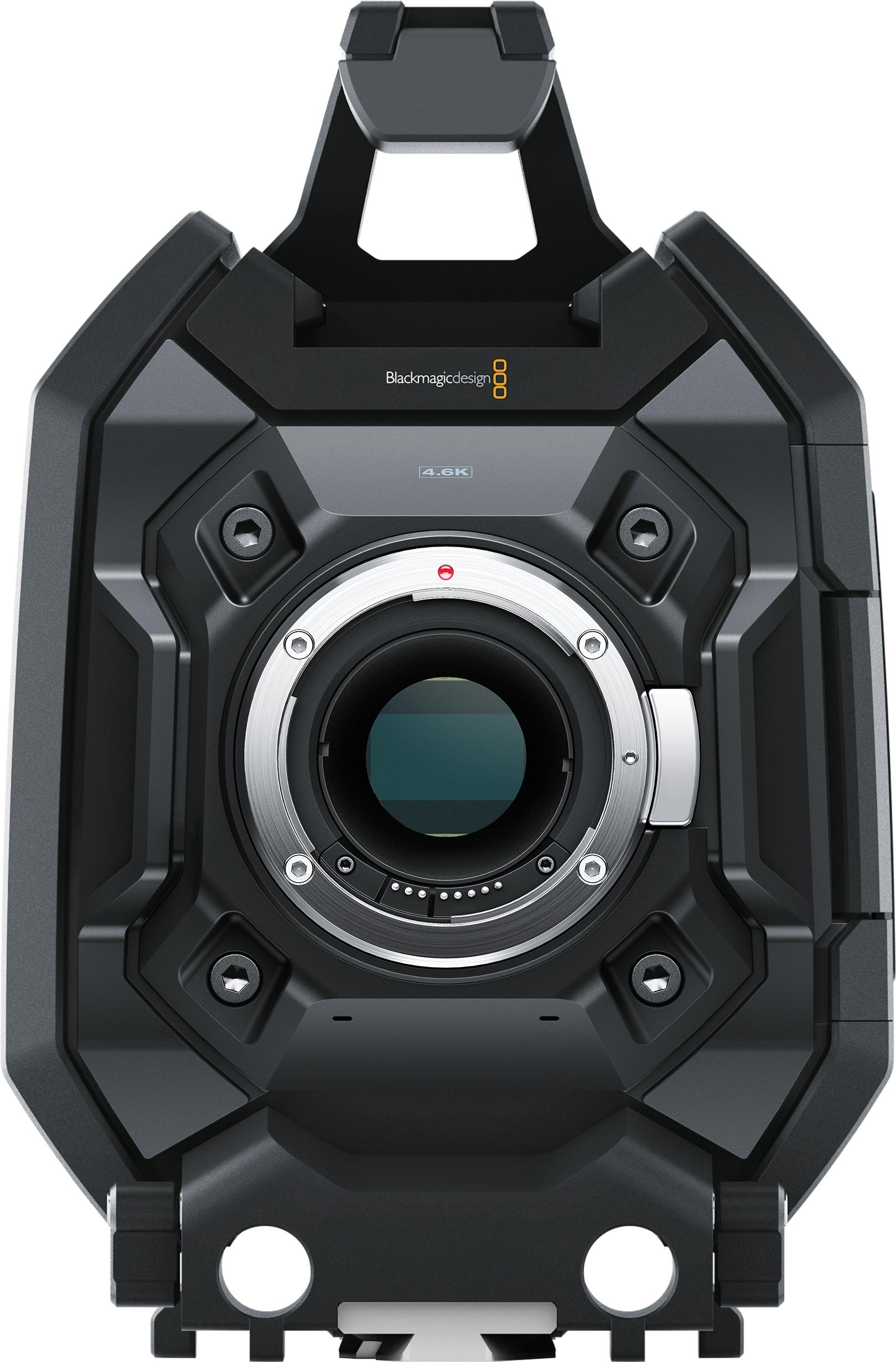 Blackmagic Design URSA Mini 4.6K Camera with EF Mount, 4K Super 35 Sensor and an Incredible 15 Stops of Dynamic Range