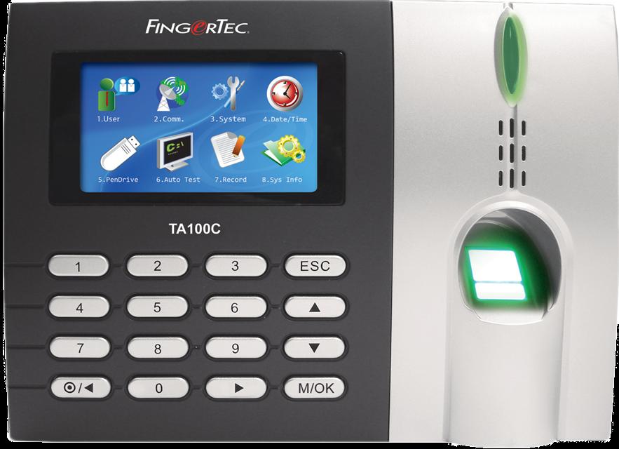 FingerTec TA103C Time Clock