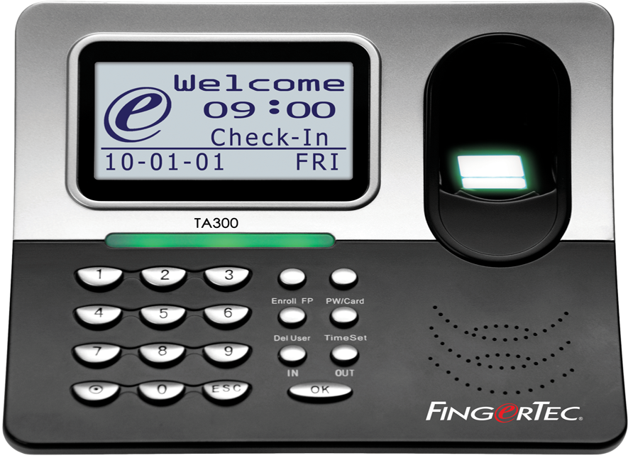 FingerTec TA300 Mobile Time CLock