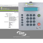 Icon Time TotalPass Small Business Premium • Proximity (Now Ships Wifi Enabled)