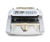 Accubanker AB1050UV Commercial Bill Counter w/UV Counterfeit Detector