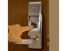 1Touch® IQ2 Indoor/Outdoor Fingerprint Door Lock Pin Code