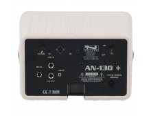 Anchor Audio AN-130F1RC+ AN-130+ with one built-in wireless receiver and remote control- white