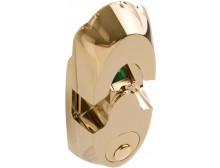 NEXTBOLT-NX5 Polished Brass (PB) biometric high security biometric deadbolt