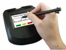 IDTECH- uSign™ 300, Color LCD Signature Capture Pad