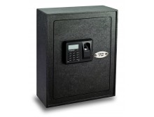Viking Security Safe VS-12BL Small Wall Biometric Fingerprint LCD Keypad Safe
