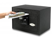 Viking Security Safe VS-25DBL Small Depository Biometric Fingerprint LCD Keypad Safe